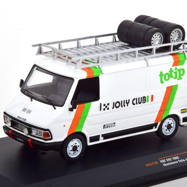 Fiat 242 Service Car Totip Jolly Club 1985 1-43 Ixo Models