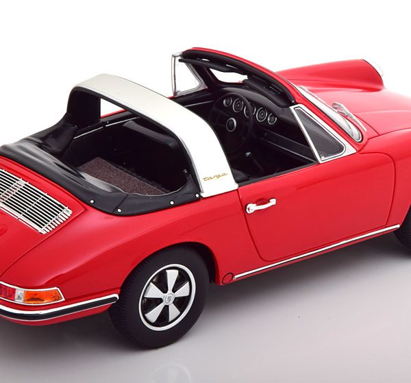 Porsche 911 (901) Targa 1967 Rood 1-18 GT Spirit Limited 500 Pieces