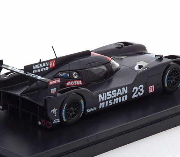 Nissan GT-R LM Nismo Test Car 2015 Matzwart 1-43 PremiumX