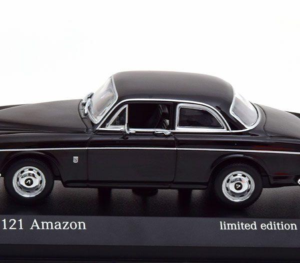 Volvo 121 Amazon 1966 Zwart 1-43 Minichamps Limited 500 Pieces