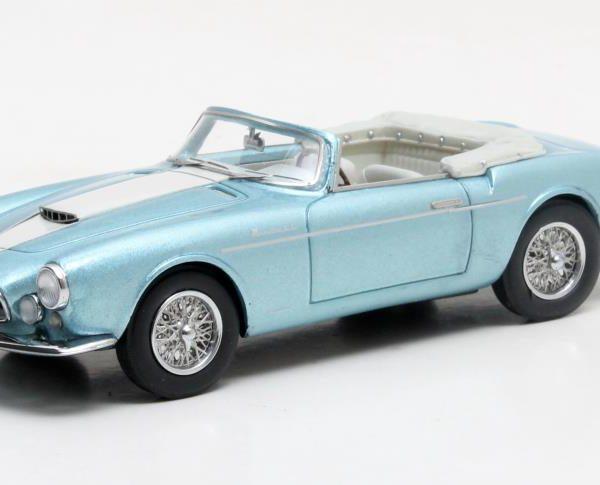 Maserati A6G 2000 Frua Spider 1956 Metallic Blauw 1-43 Matrix Scale Models Louwman Collctie Limited 408 pcs.