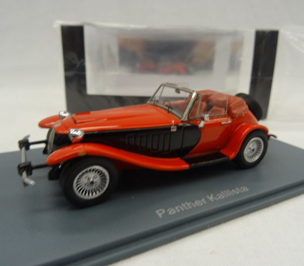 Panther Kallista 1988 1-43 Rood/Zwart Neo Scale Models