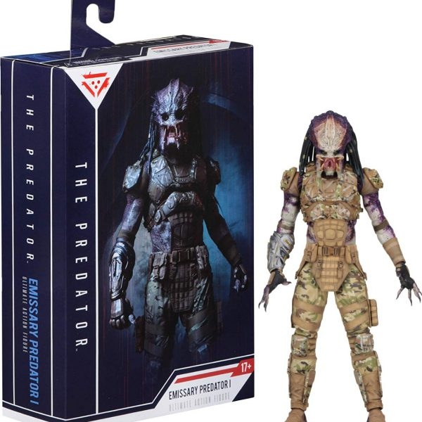"Emissary Predator II Ultimate Action Figure 7""inch (20 cm) Neca"