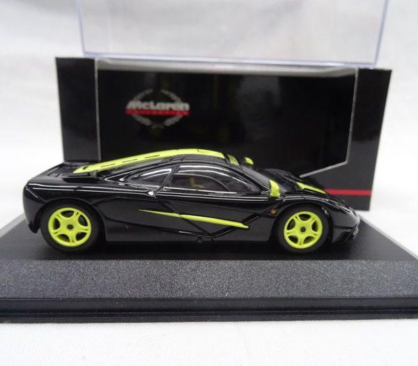 """McLaren F1 """"Hekorsa-Edition"""" 1-43 Zwart/Geel Minichamps Limited 999 pcs."""