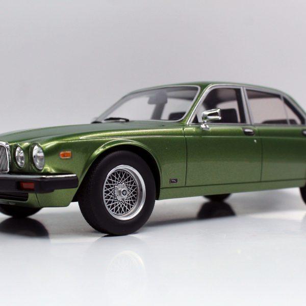 Jaguar XJ6 1982 Groen Metallic 1-18 LS Collectibles Limited 250 Pieces