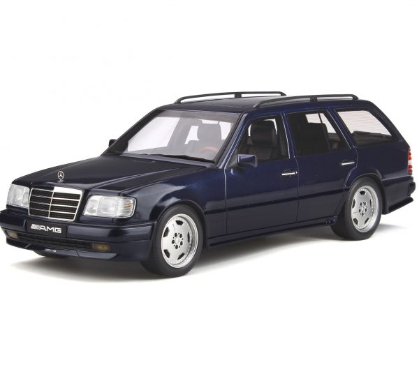 Mercedes-Benz S124 AMG E36 Ph3 1995 Blauw 1-18 Ottomobile Limited 1500 Pieces