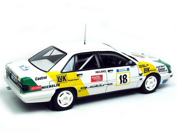 Audi 200 Quattro LUK #18 Driver: A.Schwars Acropolis Rally 1989 1-43 Neo Scale Models