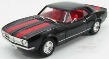 Chevrolet Camaro Z28 1967 Zwart met rode strepen 1-18 Lucky Diecast