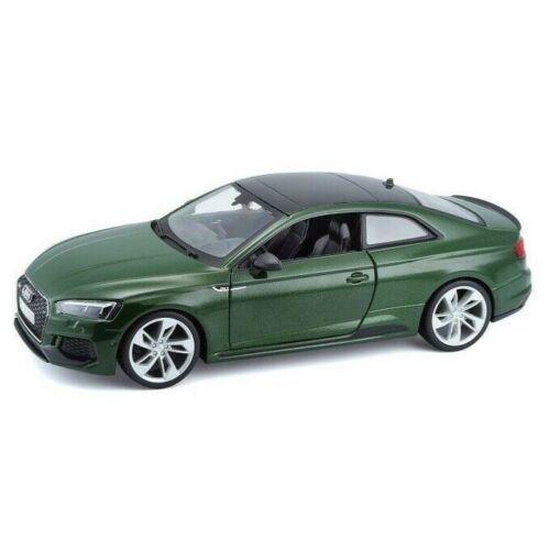 Audi RS5 Coupe 2019 Groen 1/24 Bburago