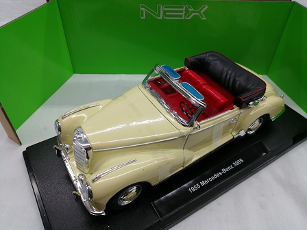 Mercedes-Benz 300S 1955 Beige 1-18 Welly
