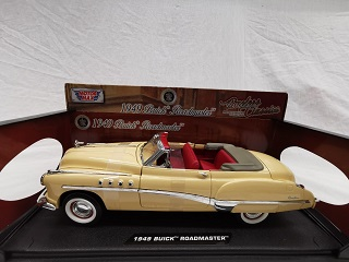 Buick Roadmaster Cabriolet 1949 Creme 1-18 Motormax
