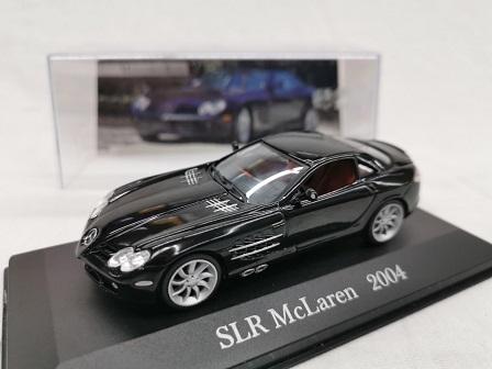 Mercedes-Benz SLR McLaren 2004 Zwart 1-43 Altaya Mercedes Collection