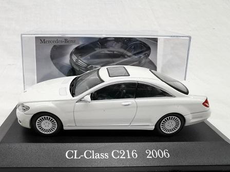 Mercedes-Benz CL-Class ( C216 ) 2006 Wit 1-43 Altaya Mercedes Collection
