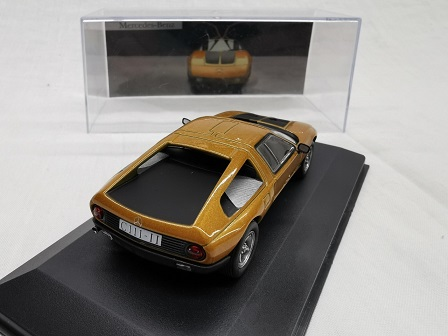 Mercedes-Benz C111-II 1970 Oranje 1-43 Altaya Mercedes Collection