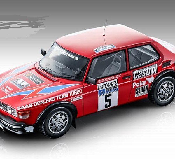 Saab 99 Turbo #5 Lombard RAC Rally 1979 S.Blomqvist/B.Cederberg 1-18 Tecnomodel Limited 80 pcs.