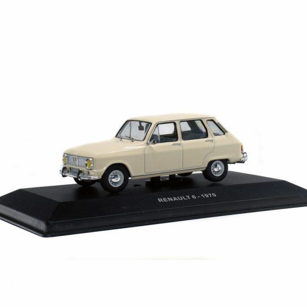 Renault 6 1970 Beige 1-43 Solido