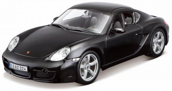 Porsche Cayman S 1-18 Zwart Maisto