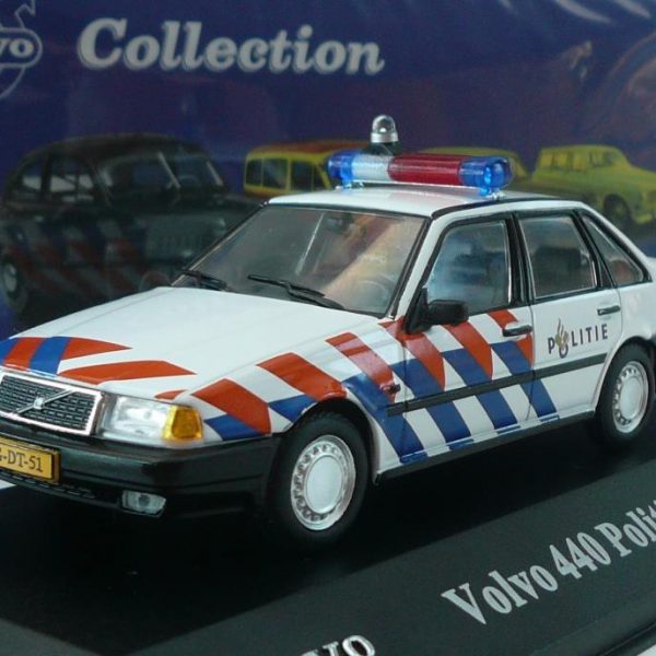 Volvo 440 Politie 1-43 Volvo Atlas Collection