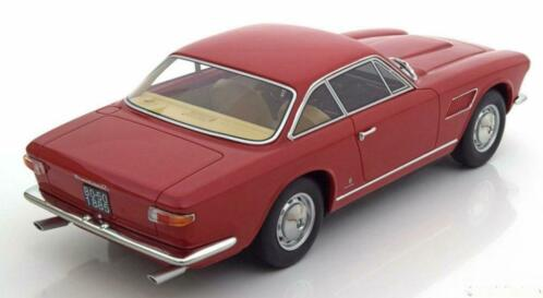 Maserati Sebring 2 1966 Rood Metallic 1-18 BOS Metallic Limited 1000 Pieces