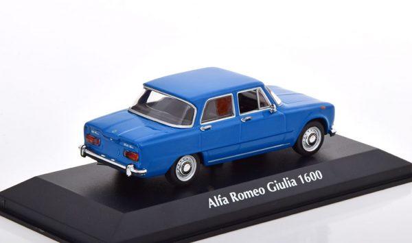 Alfa Romeo Giulia 1600 1970 Blauw 1-43 Maxichamps
