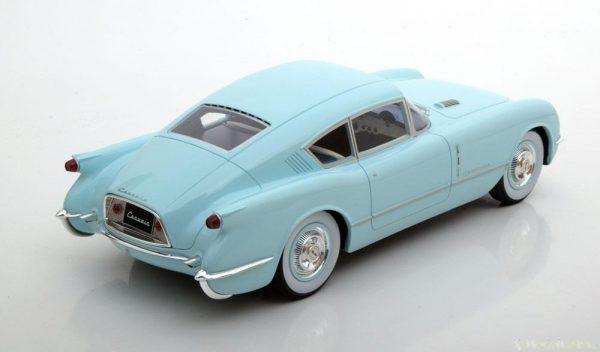 Chevrolet Corvette Corvair Concept 1954 Lichtblauw 1-18 BOS Models Limited 1000 Pieces