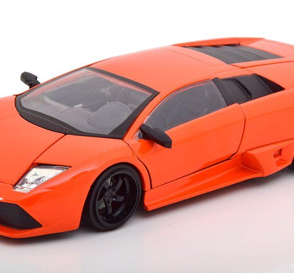"""Lamborghini Murcielago """"Fast & Furious""""Roman's Car Oranje 1-24 Jada Toys"""