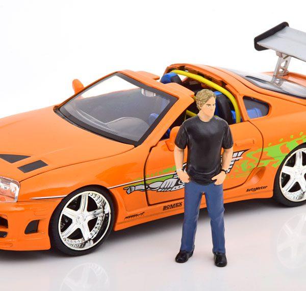 Fast Furious 1-24 Brian car 1995 Toyota Supra 1-24 Jada Toys