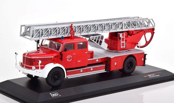Krupp DL 52 Brandweer Essen Rood 1-43 Ixo Models