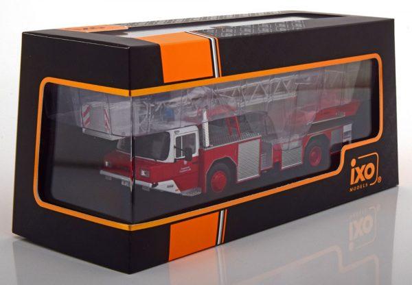 Magirus DLK 2312 Brandweer Frankfurt/Main Rood 1-43 Ixo Models
