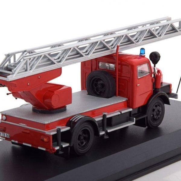 IFA S4000 DL Brandweer 1962 Rood 1-43 Ixo Models