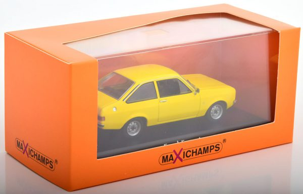 Ford Escort 1975 Geel 1-43 Maxichamps