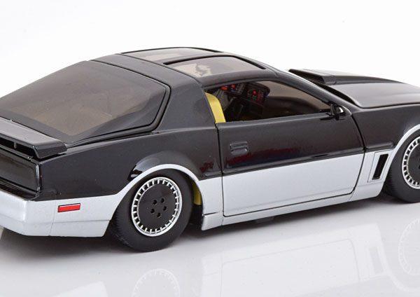 Pontiac Firebird Knight Rider K.A.R.R. 1982 Zwart / Zilver 1-24 Jada Toys