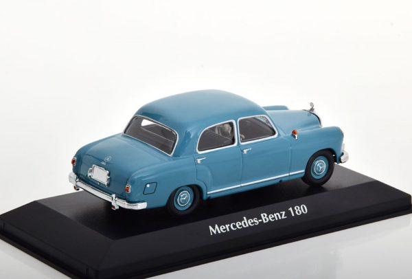 Mercedes-Benz 180 (W120) 1955 Grijsblauw 1-43 Maxichamps