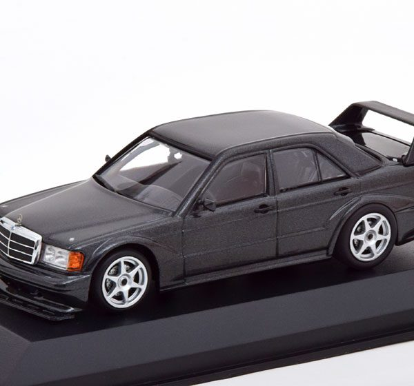 Mercedes-Benz 190E 2.5-16 Evo 2 1990 Zwart Metallic 1-43 Maxichamps