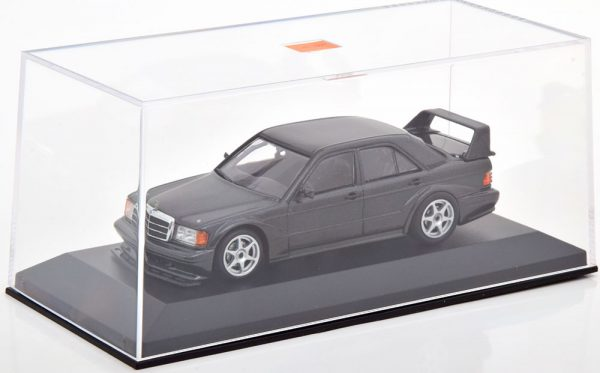 Mercedes-Benz 190E 2.5-16 Evo 2 1990 Zwart Metallic 1-43 Maxichamps
