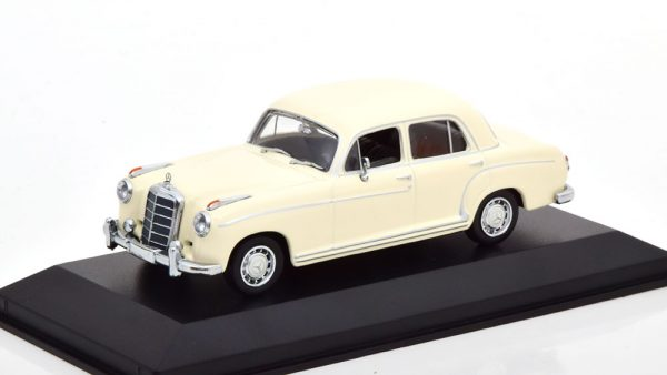 Mercedes-Benz 220 S 1956 Wit 1-43 Maxichamps