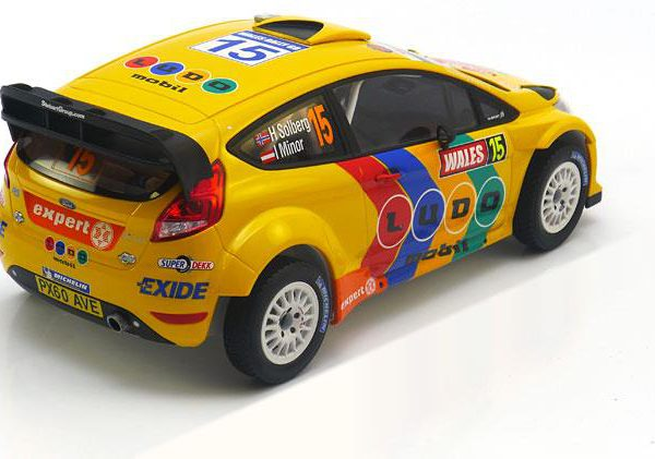 Ford Fiesta RS WRC No.15, Rally Wales 2011 Solberg/Minor 1-18 Minichamps Limited 1002 Pieces