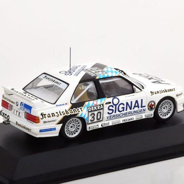 BMW M3 E30 No.30, DTM 1991 Leopold Prinz von Bayern 1-43 CMR Models