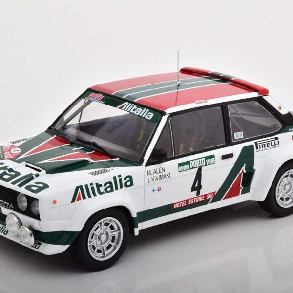 Fiat Abarth 131 No.4, Rally Portugal 1978 Alen/Kivimaki 1-18 Ixo Models