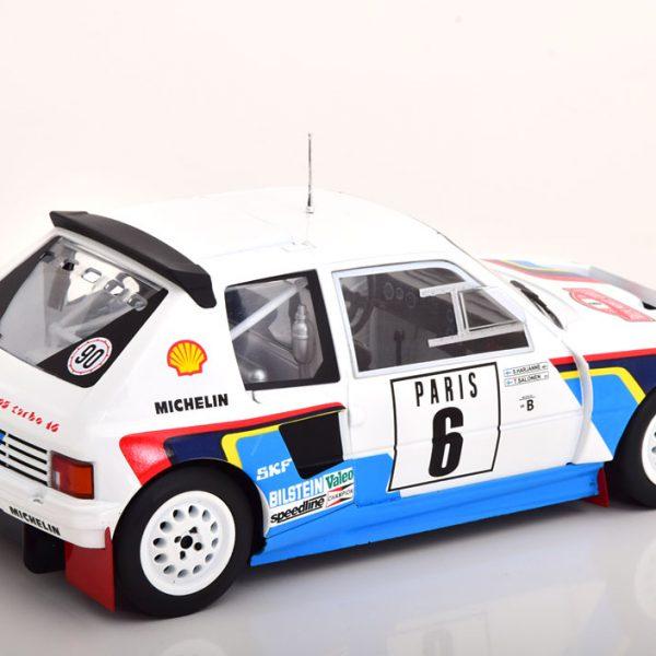 Peugeot 205 T16 No.6, Rally Monte Carlo 1985 Salonen/Harjanne 1-18 Ixo Models