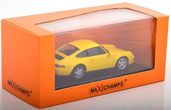 Porsche 911 (993) 1993 Geel 1-43 Maxichamps