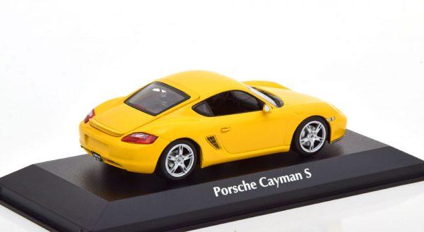Porsche Cayman S (987) 2005 Geel 1-43 Maxichamps
