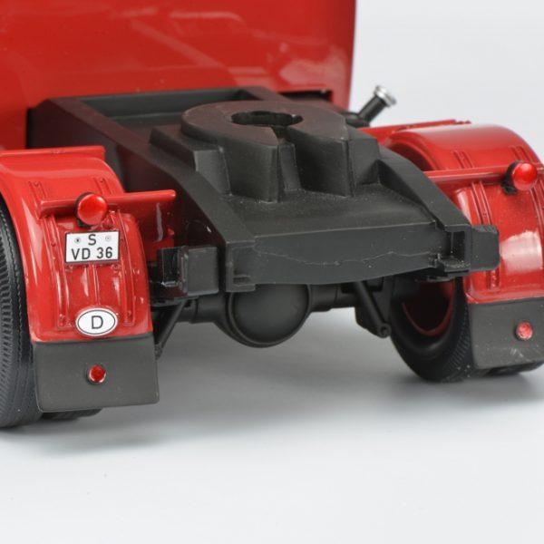 Opel Blitz Renntransporter Porsche 1-18 Rood Schuco Pro-R Limited 2000 pcs.