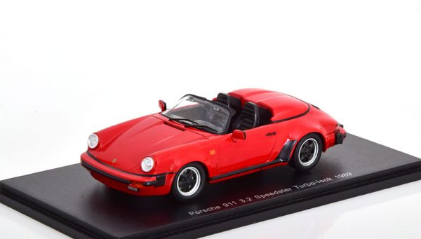 Porsche 911 3.2 Speedster Turbo ( look ) 1989 Rood 1-43 Spark