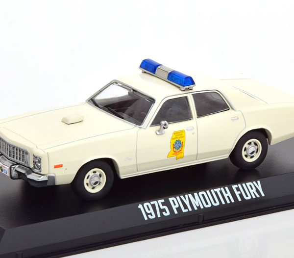 Plymouth Fury Smokey & Bandit 1975 Beige 1-43 Greenlight Collectibles