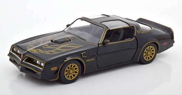 "Pontiac Firebird Trans Am 1977 ""Smokey and the Bandit"" Zwart 1-24 Jada Toys"