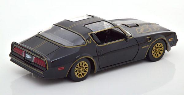 "Pontiac Firebird Trans Am 1977 ""Smokey and the Bandit"" Zwart 1-24 Jada Toys"