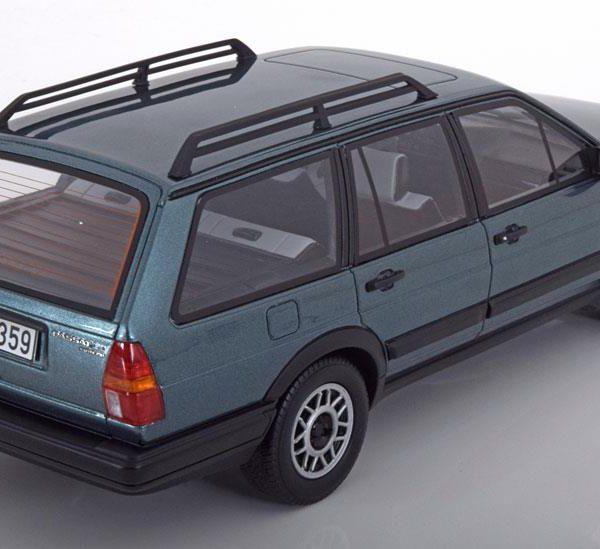 Volkswagen Passat Variant GT B2 Syncro 1987 Groen Metallic 1-18 BOS Models Limited 1000 Pieces