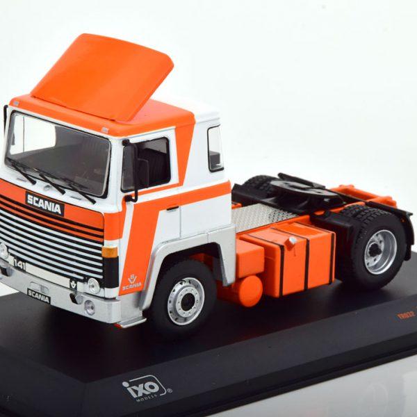 Scania LBT 141 1976 Wit / Oranje 1-43 Ixo Models