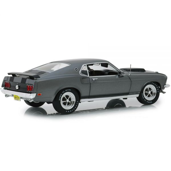 Ford Mustang Boss 429 1969 John Wick Grijs metallic 1-18 Highway61